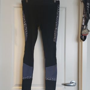 GAP Color Block and Leopard GapFit Pants